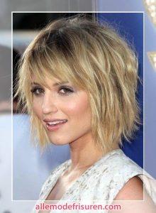 Abgehackt kurze Frisur für feines Haar 2017 2018 220x300 - Trend Abgehakt Haarschnitte 2018