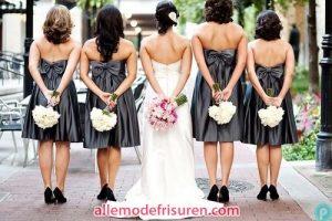 Brautjungfer Kleid Trends 2016