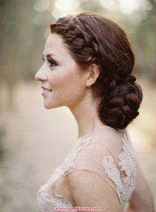 Eine Brautjungfer Haar 2016 2017