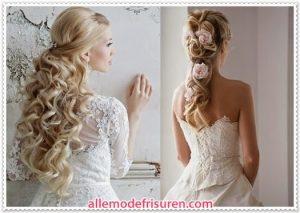 Geflochtene Brautfrisuren Für Haar 2016