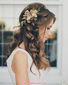 Haarfrisur fur die Braut 2017