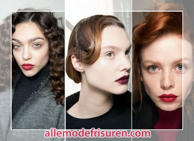 Herbst Winter 2016 Frisuren Trends Retro - Frisuren Herbst Winter 2018