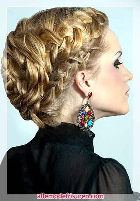 Geflochtene Frisuren für Langes Haar 2016