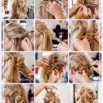 Hochzeit Frisuren hochgestecktes gedrehtes Haar Style by viola klein