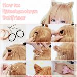 Kawaii Katzenohren Frisuren