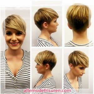 Kurzhaarschnitt für blonde haar 2016 2017