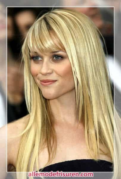 frisuren lange haare für haarfarben