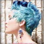 blau frisuren frauen kurz