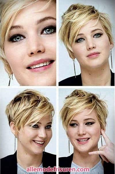Zerkleinerte geschichteten kurze Haare Mode - Letzte Art und Weise kurze Haare