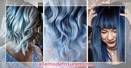 blau neue haarfarben