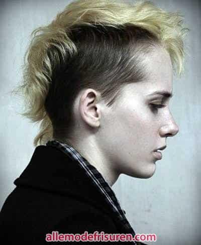 kurze Haare fake letzte Mohikaner - Letzte Art und Weise kurze Haare
