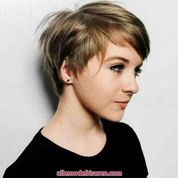 kurze haarschnitte interessante styles fuer frauen 5 - Kurze Haarschnitte-Interessante Styles für Männer oder Frauen