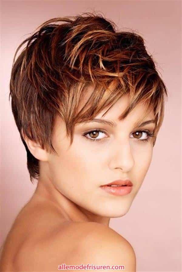 kurze haarschnitte interessante styles fuer frauen 8 - Kurze Haarschnitte-Interessante Styles für Männer oder Frauen