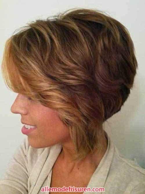 sexy kurze wellige haarschnitte frisuren fuer damen 8 - Sexy Kurze wellige Haarschnitte & Frisuren für Damen