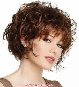 kurze lockige haarschnitte fuer lange gesichter 13