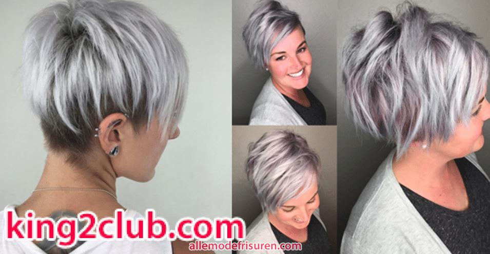 Die Besten Farben Fur Kurze Haare 2018 Trend Kurze Frisuren