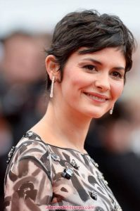 Audrey Tautou Pixie wellige Modelle 2018