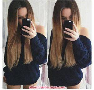 Die coolsten ombre Haarfarben