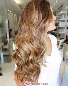 Karamell Frisuren Haar Modelle 2018