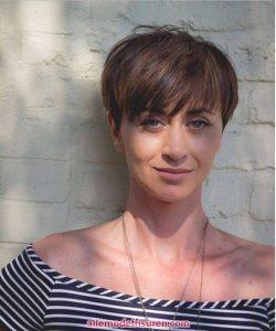 Kurze abgeschnittene Pixie Haare schneiden 2018