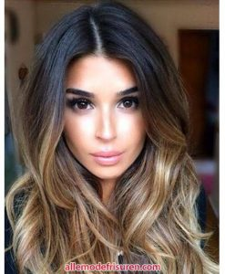 Stylische ombre 2018 Farbe