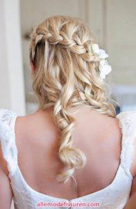 Wasserfall Haar Zopf