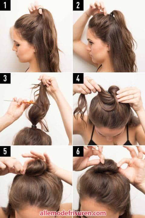 halbe Bulk Haarmodelle